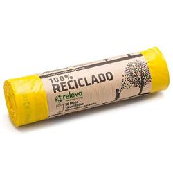 Chollo - Bolsas de Basura Relevo 100% Reciclado 30L (15uds)