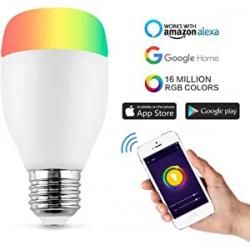 Chollo - Bombilla inteligente Horsky WiFi RGB