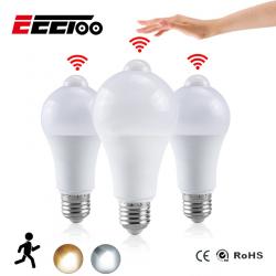 Chollo - Bombilla LED con Sensor de Movimiento y Luz (12W)