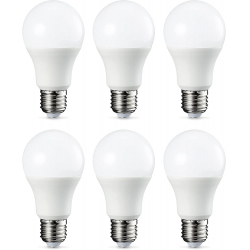 Chollo - Bombillas LED esféricas Amazon Basics 9W E27 Pack 6