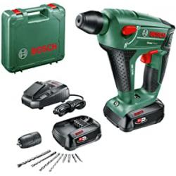 Chollo - Bosch Uneo Maxx Martillo perforador con 2 Baterías y Accesorios | 0603952327