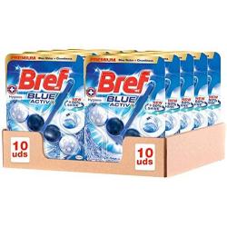Chollo - Bref Blue Activ Higiene Colgador WC Pack 10 uds