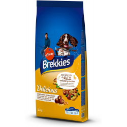 Chollo - Brekkies Delicious Selección de aves, verduras y cereales 12kg