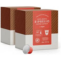 Chollo - by Amazon Cápsulas Espresso para Nespresso Pack 100x