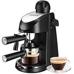 Chollo - Cafetera Espresso Aicook con Vaporizador