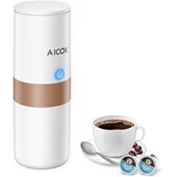 Chollo - Cafetera portátil Aicok para cápsulas K-Cup