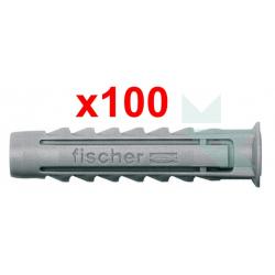 Chollo - Caja 100x Fischer SX Tacos Nylon Expansión (5x75)