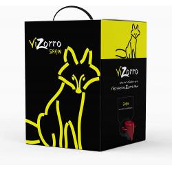 Chollo - Caja con grifo de vino tinto Vizorro 5L