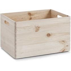 Chollo - Cajón de madera multiusos Zeller (40x30x24cm)