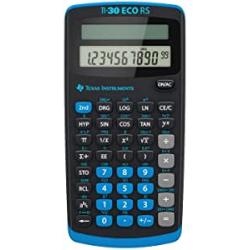 Chollo - Calculadora científica Texas Instruments TI-30 ECO RS