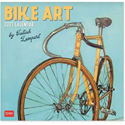 Chollo - Calendario de pared 2021 Legami Bike Art 30x29cm