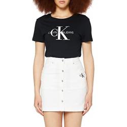 Chollo - Calvin Klein Cotton Twill Mini falda abotonada | J20J215720