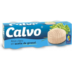 Chollo - Calvo Atún claro en aceite de girasol 3x 80g