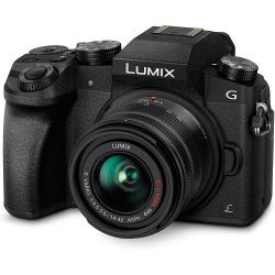 Chollo - Cámara EVIL Panasonic LUMIX DMC-G7 con Objetivo G VARIO 14-42mm F3.5-5.6