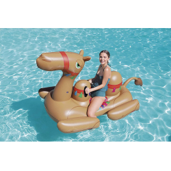 Chollo - Camello Hinchable Bestway XXL (221x132 cm)