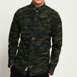 Chollo - Camisa Superdry Rookie Paperweight