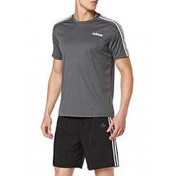 Chollo - Camiseta Adidas 3S Design 2 Move 3 Bandas