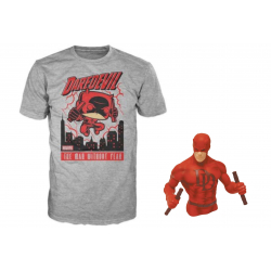 Chollo - Camiseta Funko Pop + Busto Hucha de Daredevil