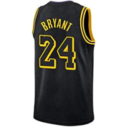 Chollo - Camiseta de Baloncesto Los Angeles Lakers #24 Kobe Bryant