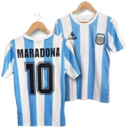 Chollo - Camiseta de fútbol Argentina 86 Maradona 10