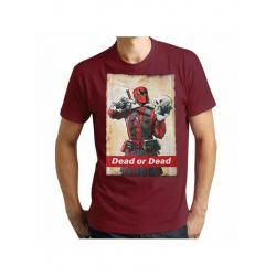 Chollo - Camiseta Deadpool Dead or Dead