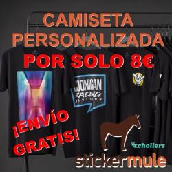 Chollo - Camiseta personalizada en Sticker Mule