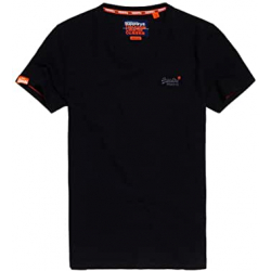 Chollo - Camiseta Superdry Vintage Orange Label (cuello pico)