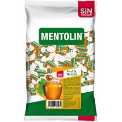 Chollo - Caramelos Mentolin Miel & Mentol sin azúcar 1000g