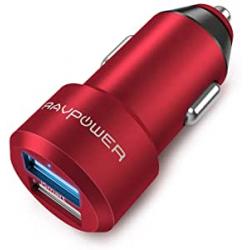 Chollo - Cargador de coche dual USB RAVPower RP-VC006R