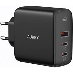 Chollo - Cargador de pared PD Aukey PA-B6S Omnia Mix 3 USB-C 90W