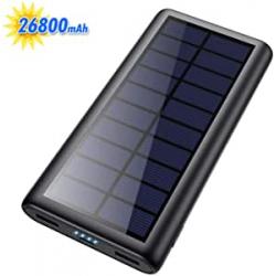 Chollo - Cargador Solar + USB 26800mAh HETP PB-Y9