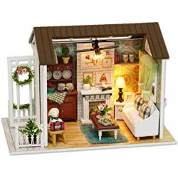 Chollo - Casa de muñecas de madera KKmoon