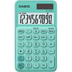 Chollo - Casio SL-310UC-GN Calculadora de bolsillo