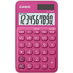 Chollo - CASIO SL-310UC-RD Calculadora