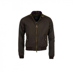 Chollo - Cazadora Barbour Mc Queen Hombre - Verde Militar