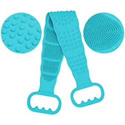 Chollo - Cepillo corporal de silicona para ducha Caveen 74cm