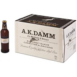 Chollo - A.K. Damm Cerveza Alsaciana Botella Caja 24x 33cl