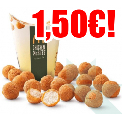 Chollo - Chicken McBites McDonald's (20uds)