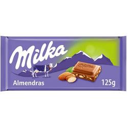 Chollo - Chocolate con leche y almendras Milka 125g