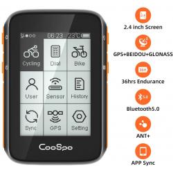 Chollo - Ciclocomputador GPS CooSpo