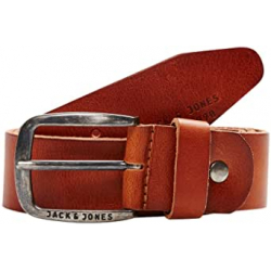 Chollo - Cinturón de cuero Jack & Jones Jjipaul Jjleather