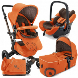 Coche Bebe M.s.neo Air-scout Rusty Orange de Concord