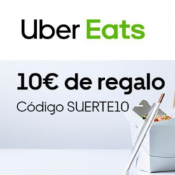 Chollo - Código Uber Eats (-10€)