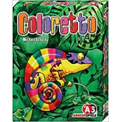 Chollo - Coloretto Juego de cartas | Devir 08132