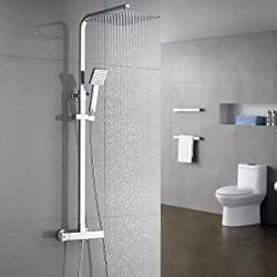 Chollo - Columna de ducha termostática Auralum