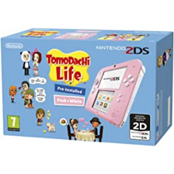 Chollo - Consola Nintendo 2DS Rosa + Tomodachi Life (Preinstalado)