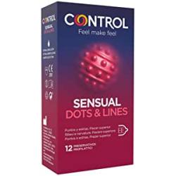 Chollo - Control Sensual Dots & Lines Caja 12 Preservativos | 00010336000000