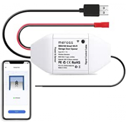 Chollo - Controlador inteligente para puertas de garaje Meross Smart WiFi Garage Door Opener - MSG100EU