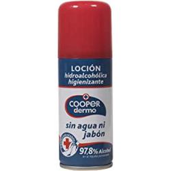 Chollo - Cooper Dermo Loción hidroalcohólica higienizante Spray 100ml