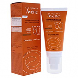 Chollo - Crema Coloreada SPF 50+ Eau Thermale Avène 50ml